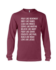 Kingdom Inheritance Unisex Be Like Jesus Long Sleeve T | Unisex Wear