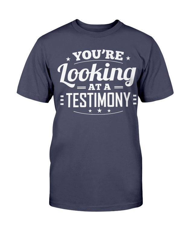 Testimony (Multiple Colors) Unisex T-Shirt