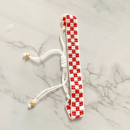 checkered croatia bracelet