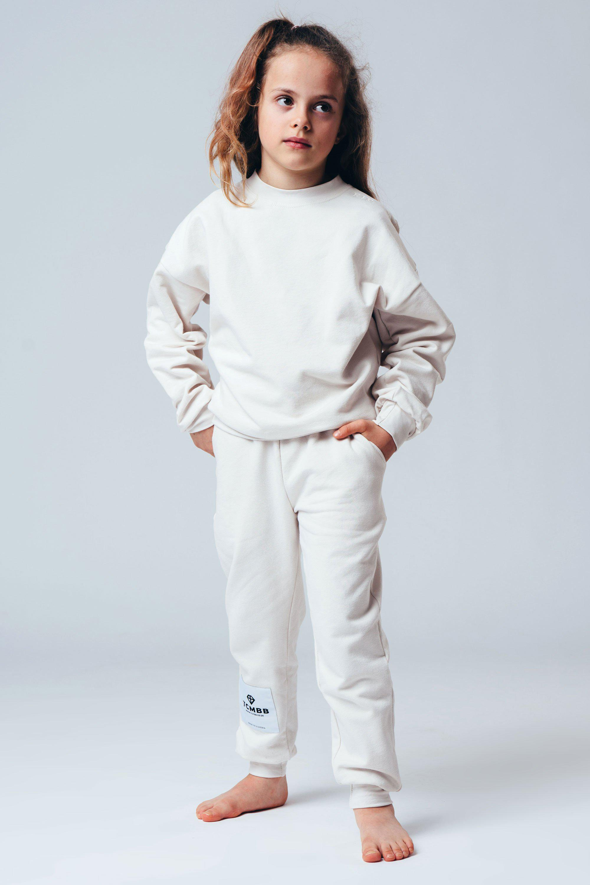 Children Tracksuits Made From Organic Cotton