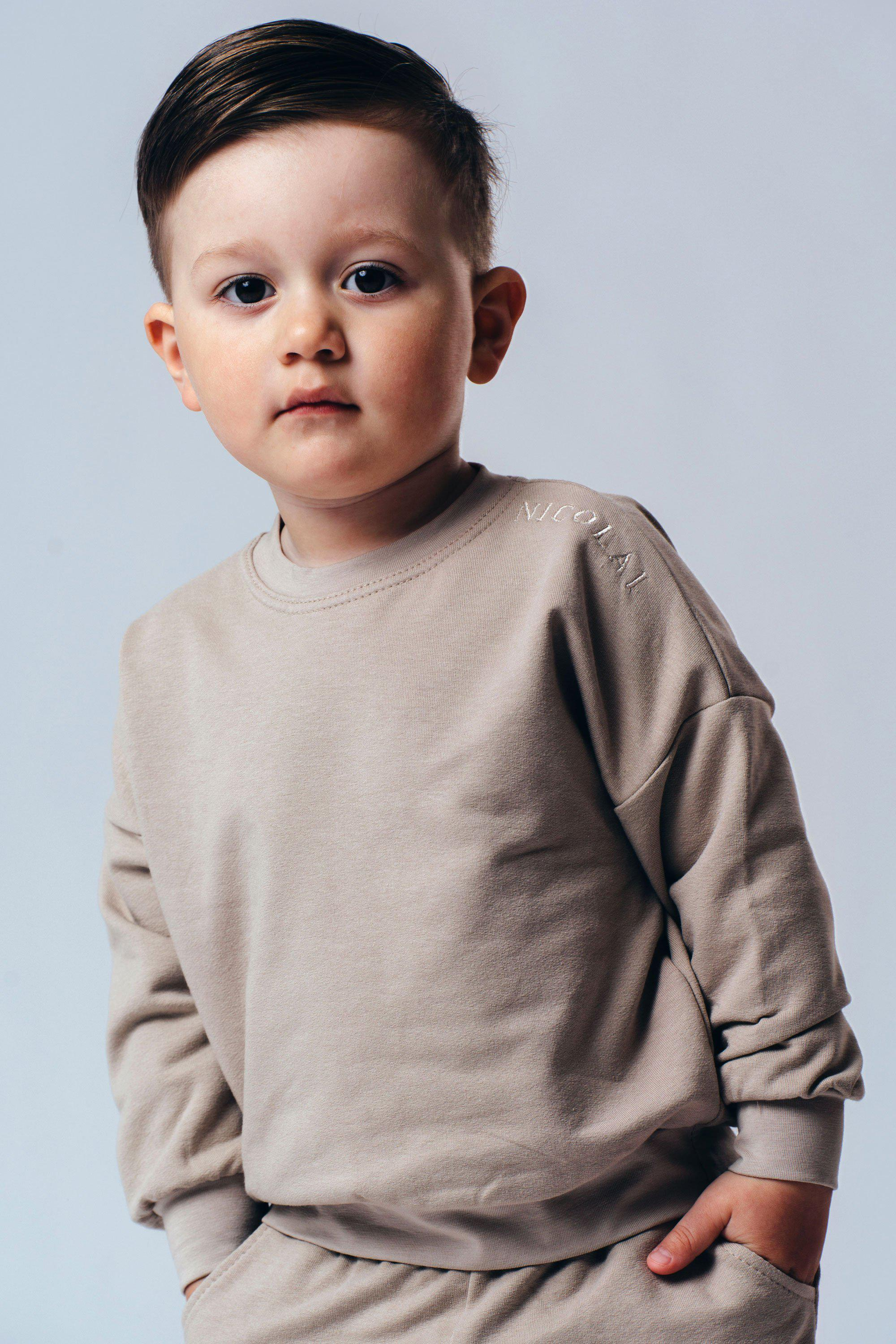 Children Sweaters Made From Organic Cotton