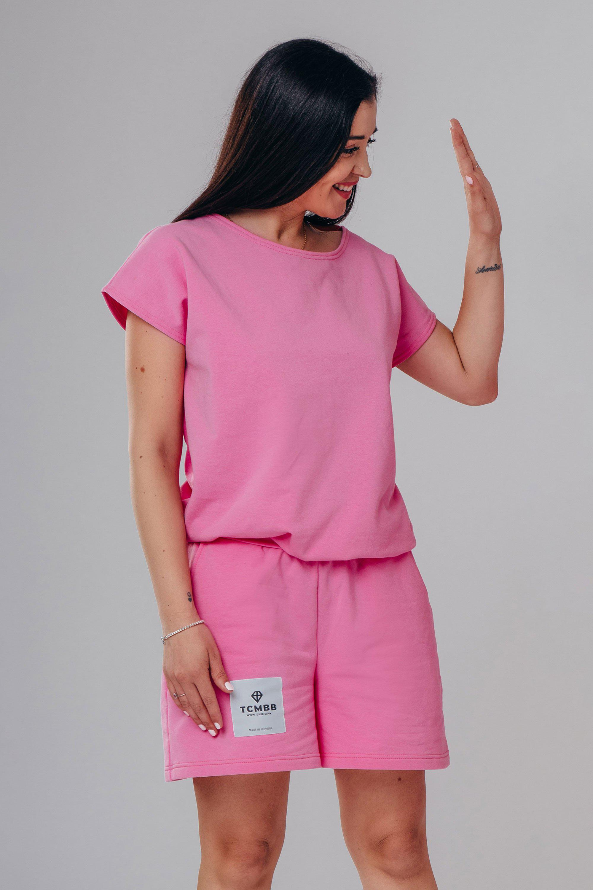 Adult Summer Shorts & Tee Set Made From Organic Cotton
