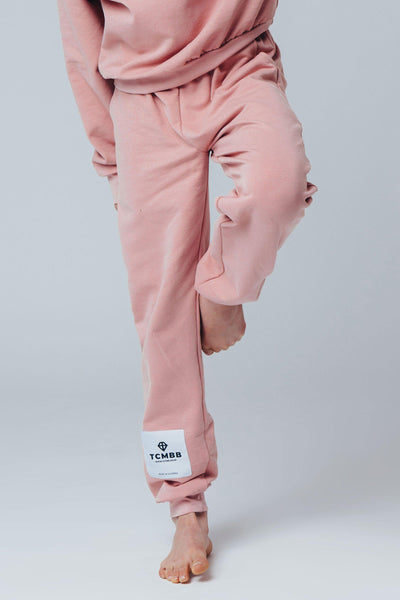 "Matching ""Me & Mini Me"" Jogger Set - Baby Pink"