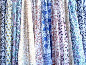 Sanganeri Blockprint Cotton Scarves