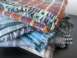 Woolen Reversible Blanket Scarves
