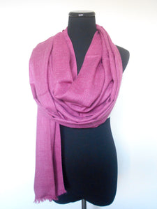 Cashmere Scarf- Pink