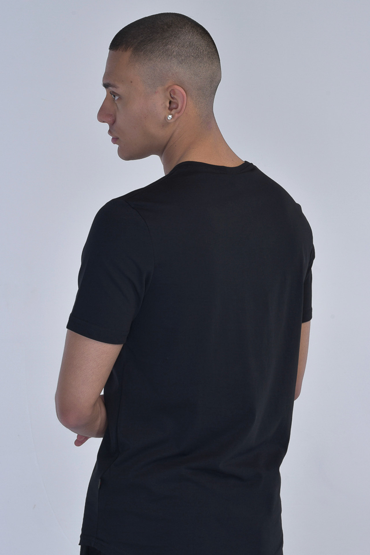 """APOTEOSI"" - T-shirt con patch in rete"