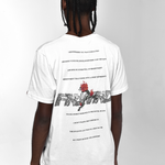 """ATLANTA"" - T-Shirt con stampa retro"
