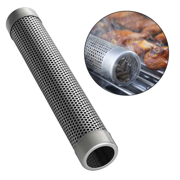 BBQ Stainless Steel Perforated Mesh Smoker Tube