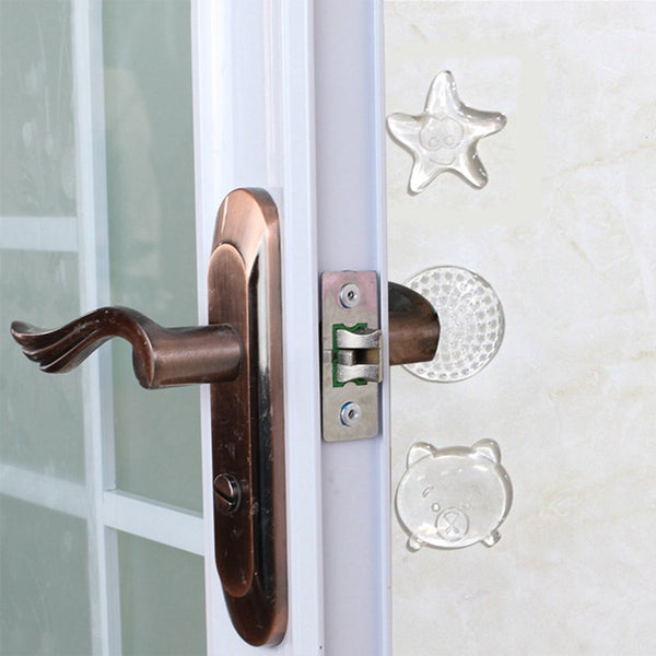 Protection Safety Shock Absorber Door Handle