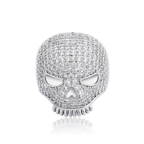 Anel Iced Skull - Iced Store