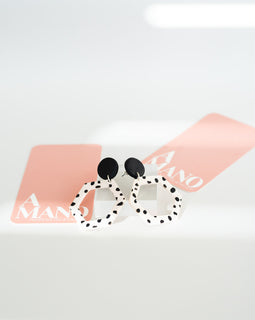 Dalmation Earring