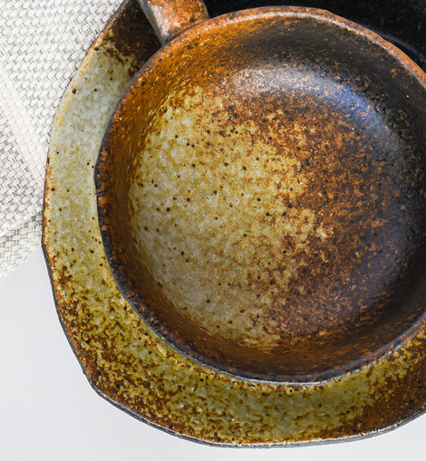 Speckled Stoneware Set