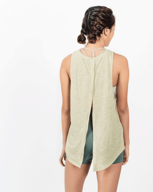 Breathe Loose Tank - Stone