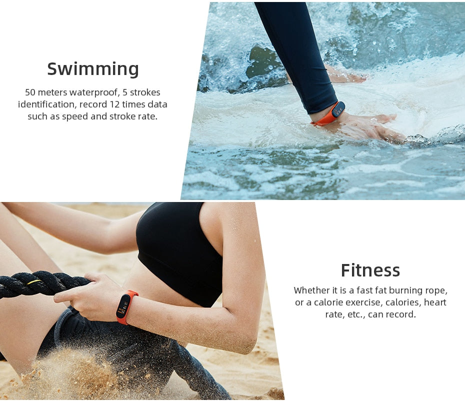 Smart Watch Heart Rate Fitness Activity Tracker