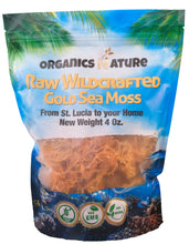 Load image into Gallery viewer, Raw Wildcrafted Dried Irish Sea Moss 4oz