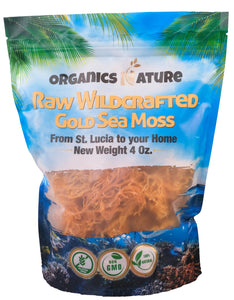Raw Wildcrafted Dried Irish Sea Moss 4oz