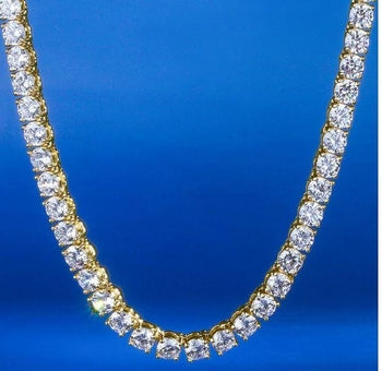 Solitare Cubic Zirconia Necklace - Royal  Holiday Shop