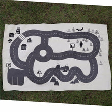 Load image into Gallery viewer, Kids World Map Floor Mat - Les Royal