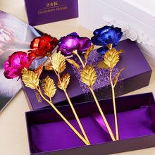 Load image into Gallery viewer, New 24k Eternal Golden Rose - Royal  Holiday Shop