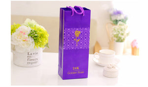 New 24k Eternal Golden Rose - Royal  Holiday Shop