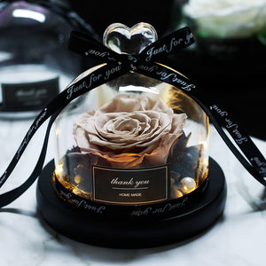 New Royal Eternal Glass Dome Led Forever Gifts - Les Royal