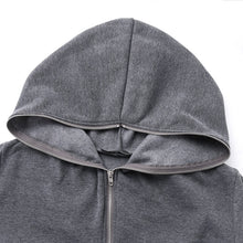 Load image into Gallery viewer, Irregular Plush Long Fleece Hooded Sweatshirt - Royal  Holiday Shop
