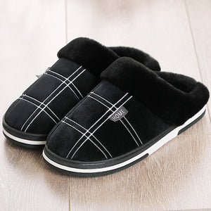 Men's Warm Anti Skid Slippers - Royal  Holiday Shop