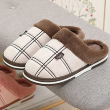 Load image into Gallery viewer, Men's Warm Anti Skid Slippers - Royal  Holiday Shop