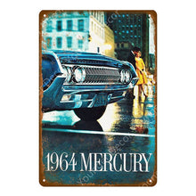 Load image into Gallery viewer, Classic Vintage Style Truck & Car Metal Signs - Royal  Holiday Shop