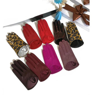 The Luxe City Natural Leather Gloves - Royal  Holiday Shop