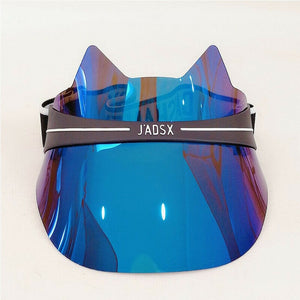 Kitty Sun Transparent UV Protection Sun Visors - Royal  Holiday Shop