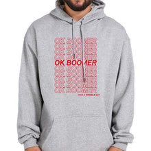 Load image into Gallery viewer, OK Boomer Long Sleeve Warm Hooded Thick Sweatshirt - Les Royal