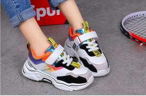 New Sporty Style Colorful Kids Sneakers - Royal  Holiday Shop