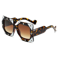 Load image into Gallery viewer, Diamond Square Oversized Sunglasses - Royal  Holiday Shop
