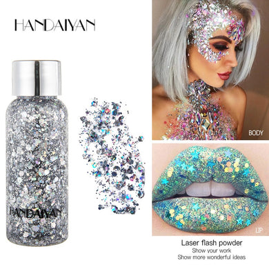 Liquid Holographic  Body & Face Loose Sequins Glitter - Royal  Holiday Shop