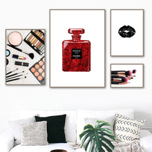 Load image into Gallery viewer, Quotable High Fashion Style Cosmetic & Perfume Canvas Prints - Royal  Holiday Shop