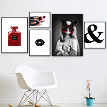 Load image into Gallery viewer, Quotable High Fashion Style Cosmetic & Perfume Canvas Prints - Les Royal