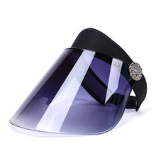 Load image into Gallery viewer, Wide Brim UV Blocking Sun Visor Mask - Royal  Holiday Shop