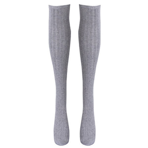 Cotton Cozy Warm Thigh High Over The Knee - Royal  Holiday Shop