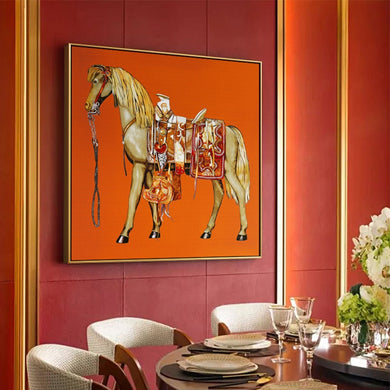 The Imperial Designer Style Horse Canvas Prints - Royal  Holiday Shop