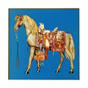 The Imperial Designer Style Horse Canvas Prints - Les Royal