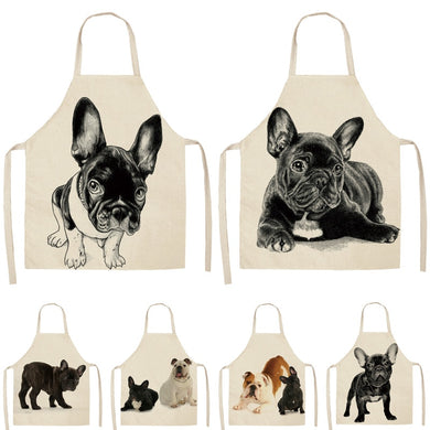 Dog Lover Kitchen Bib Aprons - Royal  Holiday Shop