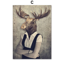 Load image into Gallery viewer, Nordic Cat Deer & Antelope Wall Decor - Les Royal