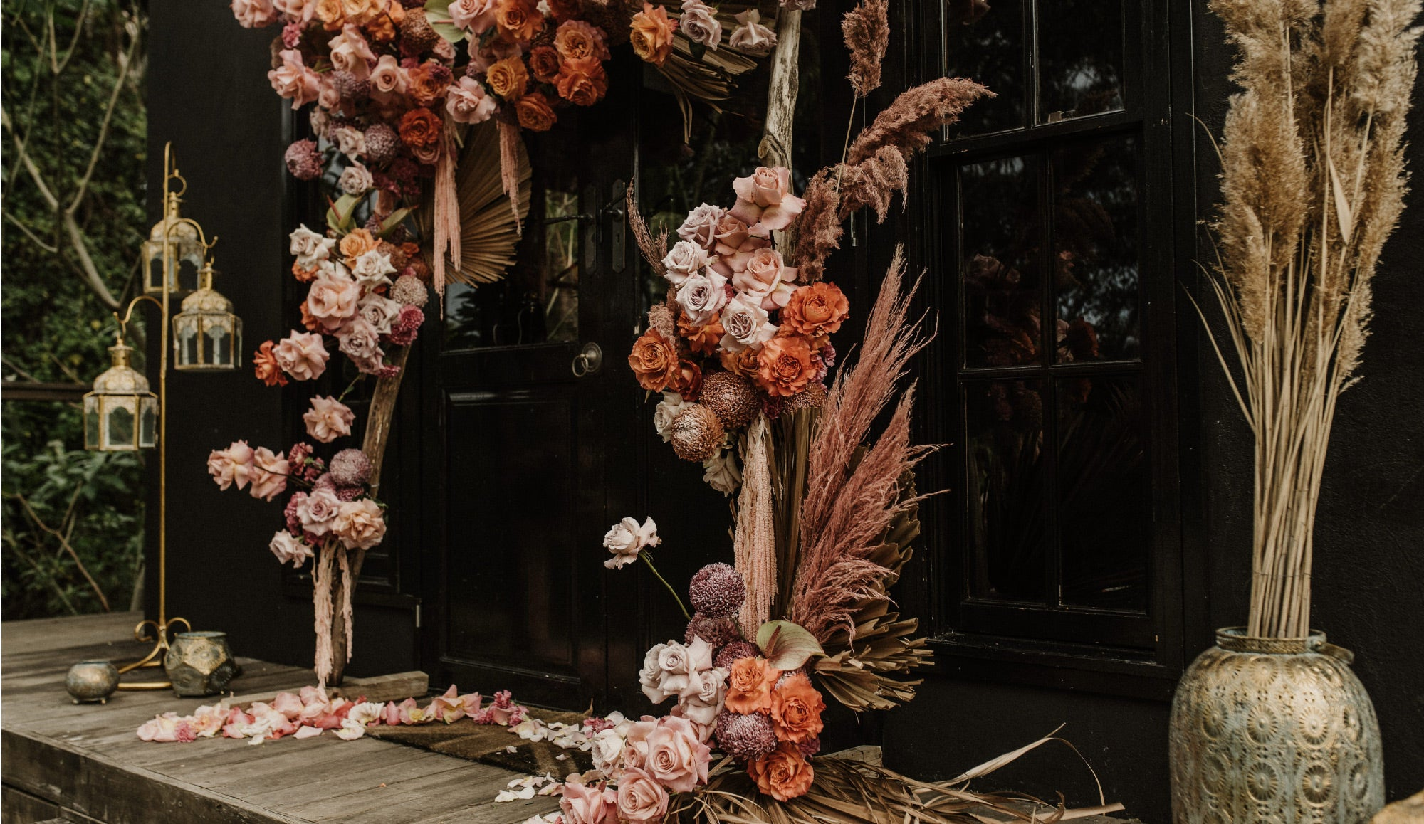 Floral styling by Luca Luna