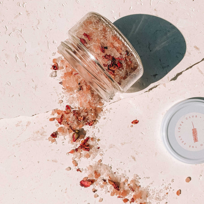 Byron Bay Bath Soak - Rose and Geranium