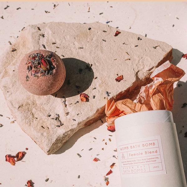 Byron Bay Bath Bomb WOMB Female Blend