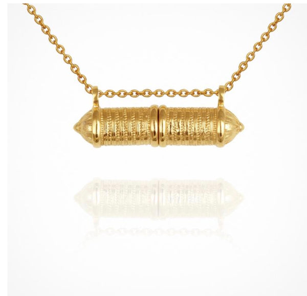 Temple of the Sun - Zora Necklace Gold