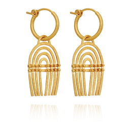 Temple of the Sun Mena Earrings