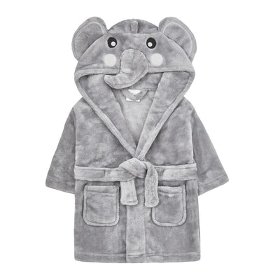 Personalised Baby Elephant Dressing Gown